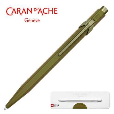 Długopis Caran d'Ache 849 Claim Your Style #3, kolor Moss Green