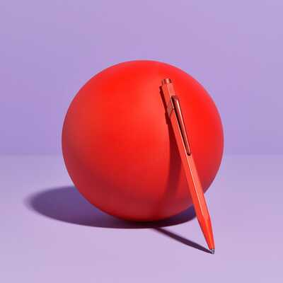 Długopis Caran d'Ache 849 Claim Your Style #3, kolor Scarlet Red