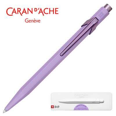 Długopis Caran d'Ache 849 Claim Your Style #3, kolor Violet