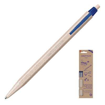 Długopis jednorazowy 825 Wood Chips Caran d'Ache, 2 sztuki na blistrze