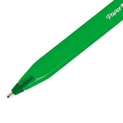 Długopis z nasadką Paper Mate InkJoy 100 Cap 1,0 mm, zielony