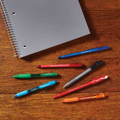 Długopis żelowy Paper Mate FlexiGrip Ultra RT, czarny