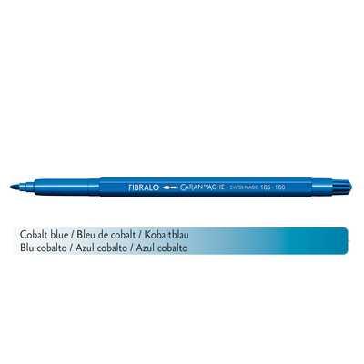 Flamaster Caran d'Ache Fibralo, 160 Kobaltowy Błękit