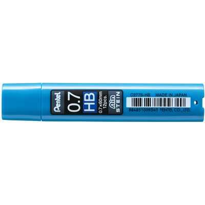 Grafity ołówkowe Pentel AIN Stein HB, 0,7 mm