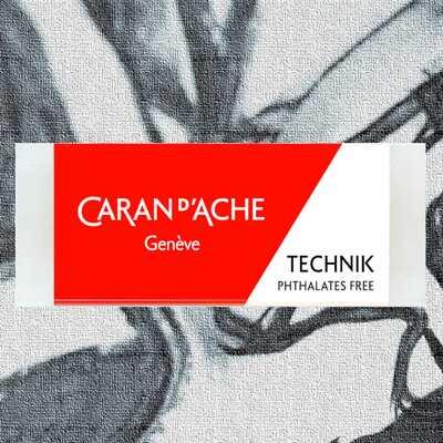 Gumka do ołówków i grafitu Caran d'Ache Technik