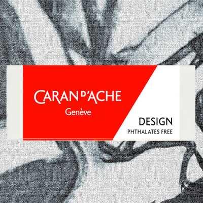 Gumka do ołówków i kolorowych grafitów Caran d'Ache Design