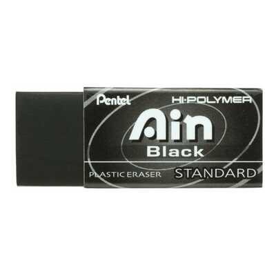 Gumka ołówkowa Pentel AIN Black