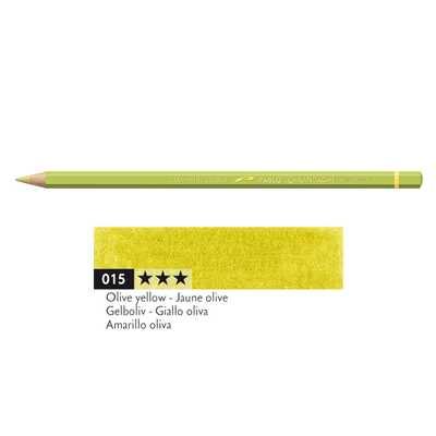 Kredka Caran d'Ache Pablo, kolor 015 Olive Yellow