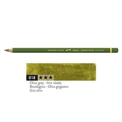 Kredka Caran d'Ache Pablo, kolor 018 Olive Grey