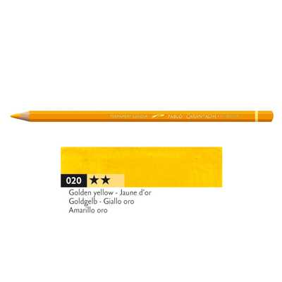 Kredka Caran d'Ache Pablo, kolor 020 Golden Yellow