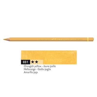 Kredka Caran d'Ache Pablo, kolor 031 Orangish Yellow