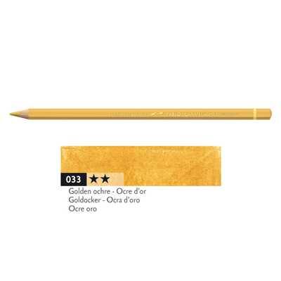 Kredka Caran d'Ache Pablo, kolor 033 Golden Ochre