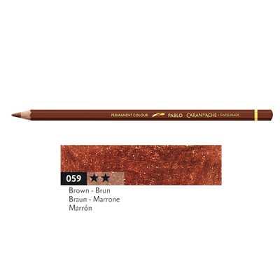 Kredka Caran d'Ache Pablo, kolor 059 Brown