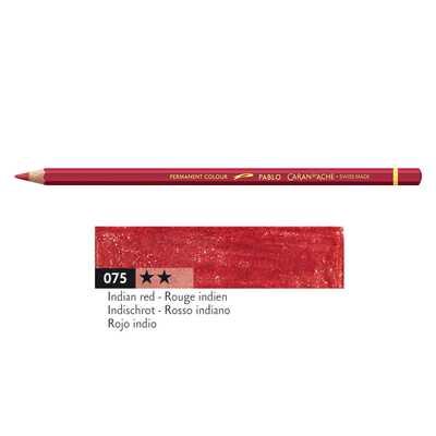 Kredka Caran d'Ache Pablo, kolor 075 Indian Red