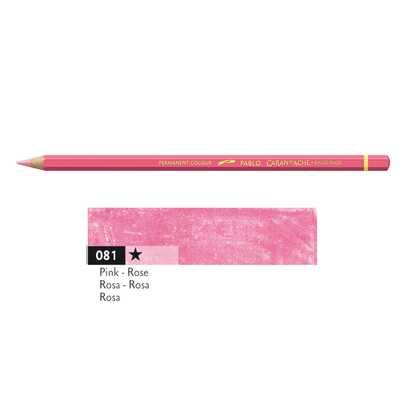 Kredka Caran d'Ache Pablo, kolor 081 Pink
