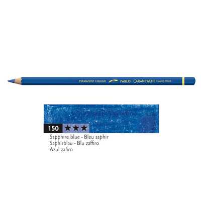 Kredka Caran d'Ache Pablo, kolor 150 Sapphire Blue
