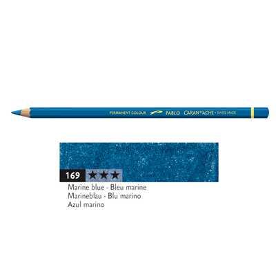 Kredka Caran d'Ache Pablo, kolor 169 Marine Blue