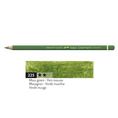 Kredka Caran d'Ache Pablo, kolor 225 Moss Green