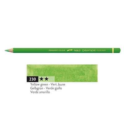 Kredka Caran d'Ache Pablo, kolor 230 Yellow Green