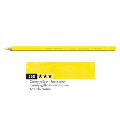 Kredka Caran d'Ache Pablo, kolor 250 Canary Yellow