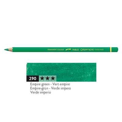 Kredka Caran d'Ache Pablo, kolor 290 Empire Green