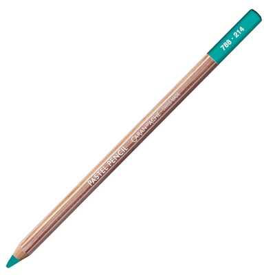 Kredka pastelowa Pastel Pencils Caran d'Ache, kolor 214 Beryl Green