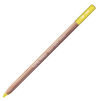 Kredka pastelowa Pastel Pencils Caran d'Ache, kolor 240 Lemon Yellow