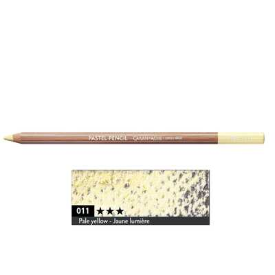 Kredka pastelowa Pastel Pencils Caran d'Ache, kolor 011 Pale Yellow