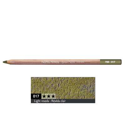 Kredka pastelowa Pastel Pencils Caran d'Ache, kolor 017 Light Reseda