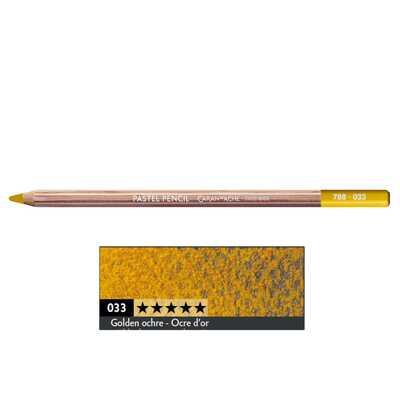Kredka pastelowa Pastel Pencils Caran d'Ache, kolor 033 Golden Ochre