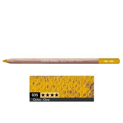 Kredka pastelowa Pastel Pencils Caran d'Ache, kolor 035 Ochre