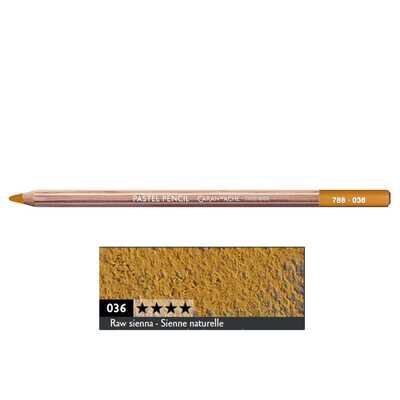 Kredka pastelowa Pastel Pencils Caran d'Ache, kolor 036 Raw Sienna