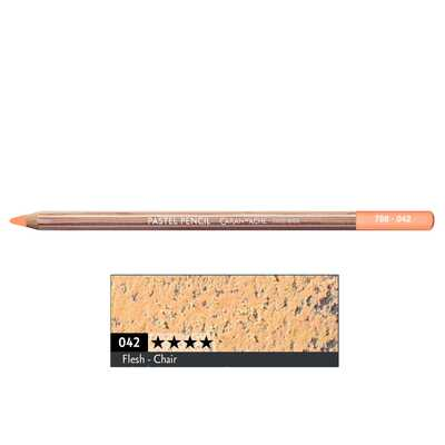 Kredka pastelowa Pastel Pencils Caran d'Ache, kolor 042 Flesh
