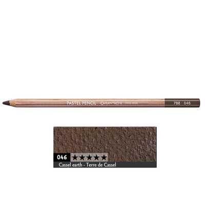 Kredka pastelowa Pastel Pencils Caran d'Ache, kolor 046 Cassel Earth