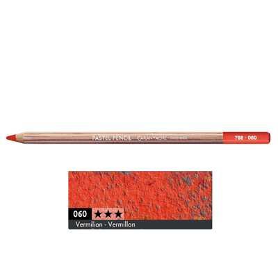 Kredka pastelowa Pastel Pencils Caran d'Ache, kolor 060 Vermilion