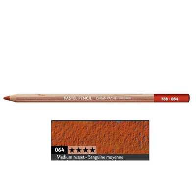 Kredka pastelowa Pastel Pencils Caran d'Ache, kolor 064 Medium Russet