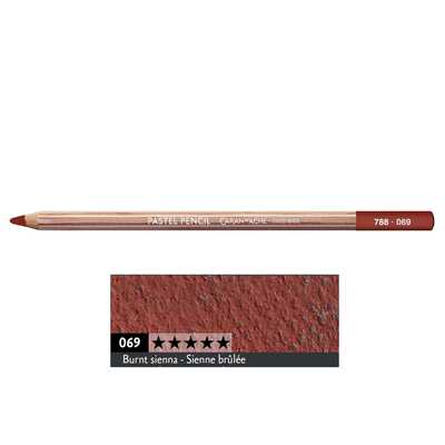 Kredka pastelowa Pastel Pencils Caran d'Ache, kolor 069 Burnt Siena