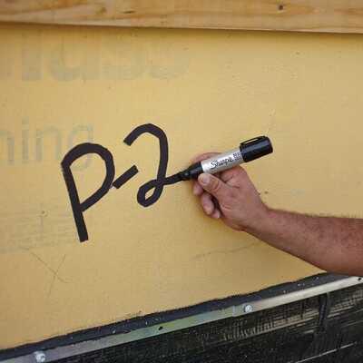 Marker permanentny Sharpie Metal Barrel, duży, ścięty, czarny