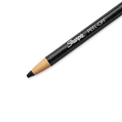 Marker woskowy Sharpie (China Marker), czarny