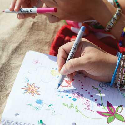 """Markery permanentne Sharpie """"Oko"""", 30 kolorów"""