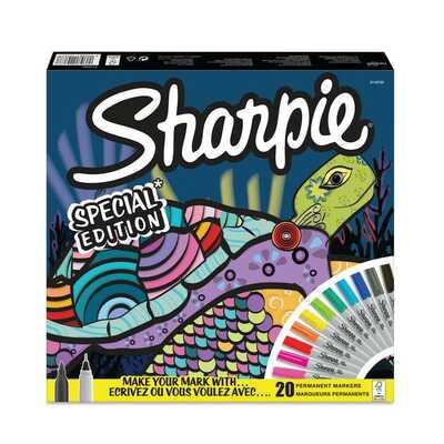 """Markery permanentne Sharpie """"Zółw"""", 20 kolorów"""