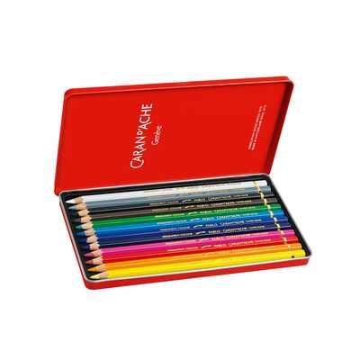Puste pudełko Caran d'Ache do przechowywania kredek i ołówków, 12 miejsc