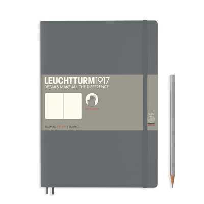 NOTATNIK LEUCHTTURM1917 COMPOSITION (B5), MIĘKKA OPRAWA, ANTRACYTOWY
