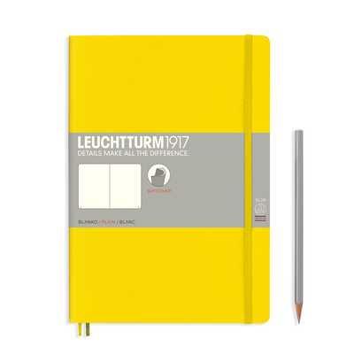 NOTATNIK LEUCHTTURM1917 COMPOSITION (B5), MIĘKKA OPRAWA, CYTRYNOWY