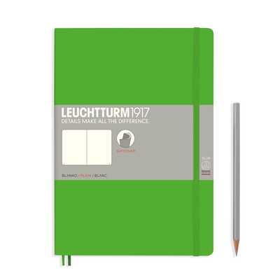 NOTATNIK LEUCHTTURM1917 COMPOSITION (B5), MIĘKKA OPRAWA, JASNOZIELONY