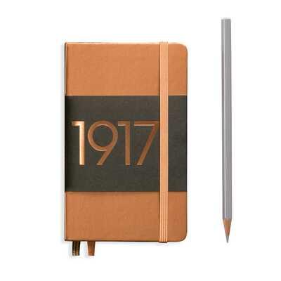 NOTATNIK LEUCHTTURM1917 EDYCJA LIMITOWANA 1917 POCKET (A6), MIEDZIANY