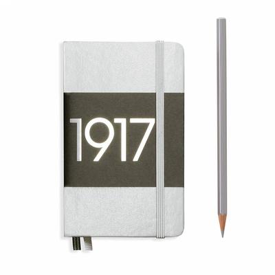 NOTATNIK LEUCHTTURM1917 EDYCJA LIMITOWANA 1917 POCKET (A6), SREBRNY