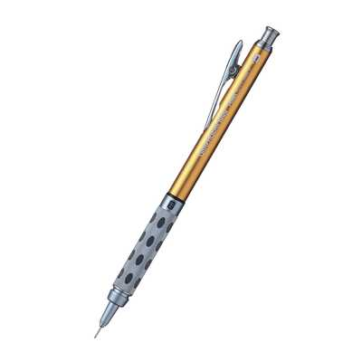 Ołówek automatyczny GRAPHGEAR 1000 Pentel, HB 0.5 mm, złoty