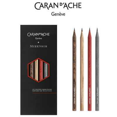 Ołówki Caran d'Ache z limitowanej kolekcji Les Crayons de la Maison edycja #9 - Mizensir