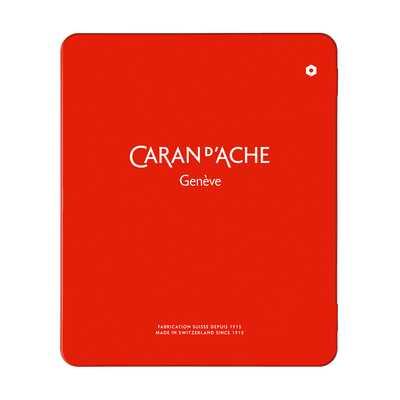 Puste pudełko Caran d'Ache do przechowywania kredek i ołówków, 18 miejsc